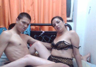 Sexcam Livegirl LadyBlanca+Alejandro